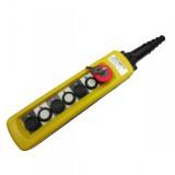 Пульт 8 кнопочный, 2 ступенчатые кнопки + стоп бутон + старт + стоп + ключ (XAC-A8913Y)