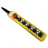 Пульт 10 кноп. 2 ступ. кнопки + стоп бутон + старт + стоп + ключ (XAC-A12913Y)