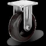 Большегрузное колесо обрезиненное марки C-4107-DYS/DUS не поворотное, без тормоза, г/п 100-1100кг